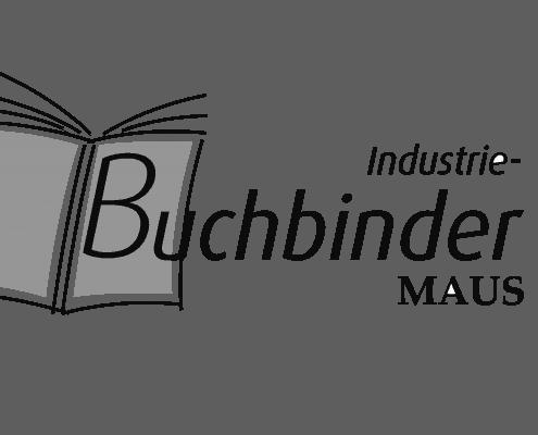 Logo Buchbinder-Maus